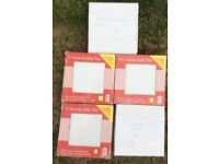 Five pack of ceramic wall tiles