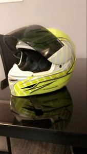 ICON helmet ALPINESTAR jacket