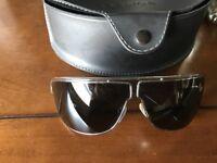 Designer aviator sunglasses