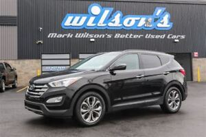 2014 Hyundai Santa Fe Sport SPORT LIMITED AWD! LEATHER! PANORAMI