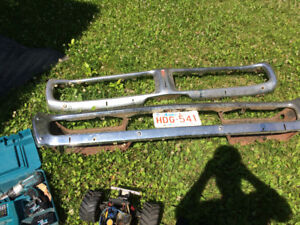 73 charger bumpers 400.00 obo