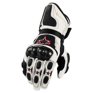 Icon Merc Leather Motorcycle Gloves