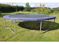 14ft diameter garden trampoline (Bazoongi)