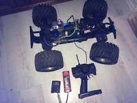 Tamiya Tnx Nitro Monster Truck Car Buggy Huge! Inc Controller and Starter