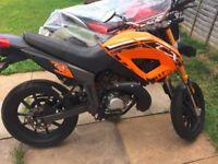 KEEWAY TX50 SUPERMOTO 50cc MOTORBIKE