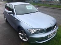 BMW 116 2.0 SPORT £30 WEEK 54K MILES FSH MP3 A/C 6 SPEED 5 DR HATCH 2009