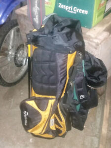 New backpack style with legs taylormade golf bag