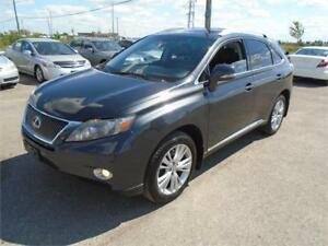 2010 Lexus RX 450h - *HYBRID - CERTIFIED - DEALER SERVICED*