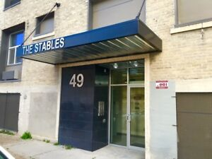 One Bedroom Suite located in downtown Winnipeg at 49 Adelaide St