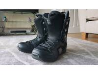 Rome SDS snowboard boots UK 10.5