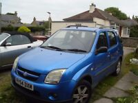 Suzuki Ignis 4Grip 1.5 vvt Selling as spares or repair as MOT nearly out, NOW SOLD