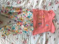 Girls floral outfit (3-6mnths)