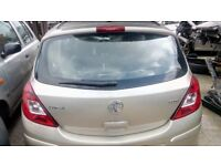 Vauxhall Corsa Tailgate with Glass 2006 - 2013 5 Door