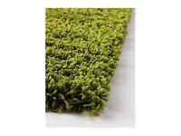 Ikea green rug - HAMPEN