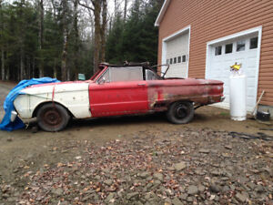 1963 ford falcon for parts or repair
