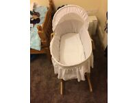 Moses basket for sale?