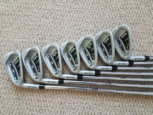 Lefty Ping i20 irons (4 to AW)