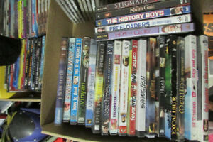Dvd's, box sets, and cds
