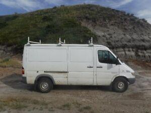 2006 Dodge Sprinter Minivan, Van