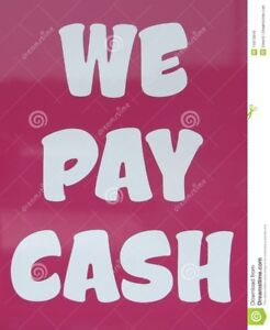 We Pay Cash Daily!! For Just About Anything.. Call Us Today!!!