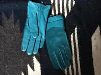 Leather Gloves by Pia Rossini.