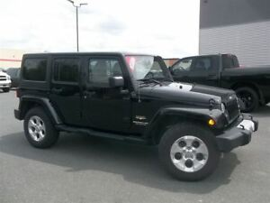 2014 Jeep Wrangler Unlimited Sahara +Cuir, Navigation+