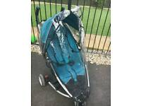Petite star pushchair