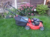 Sovereien petrol lawn mower