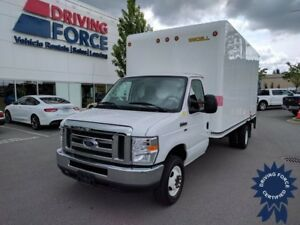 2016 Ford E-450 16 Ft Cube Van Rear Wheel Drive - 42,520 KMs