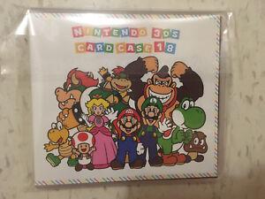 Nintendo 3DS Card Case 18 Unopened