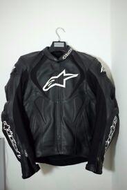 Alpinestars Jaws Motorbike Leather Jacket