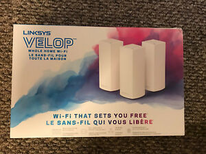 Linksys Velop AC6600 Mesh Whole Home Wi-Fi System! (3 Pack)
