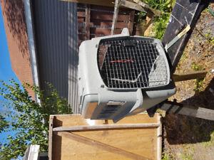Medium to large dog travel crate