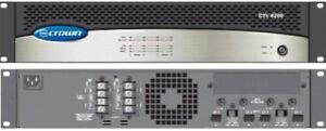 Crown CTS-4200 4 channel Amplifier