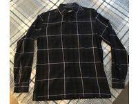 G-Star Blue Check Shirt Size L - £20