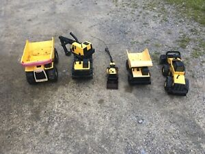 Lot of 5 Tonka trucks