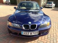 For Sale BMW Z3 Roadster 2001 12 months MOT. New Cat, lambda and radiator. Wax oiled £1450.00