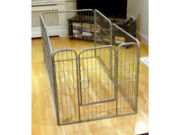 Barkshire heavy duty dog pen.
