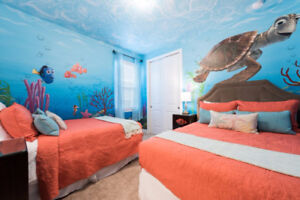 Orlando Kissimmee Disney World with Home Theatre & Free Shuttle