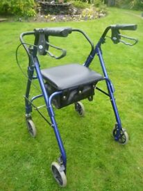 4 Wheel Walker / Rollator