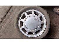 VW Golf GTi Mk.3 1993 wheels. 4 alloys. Original pattern 8v/16v, 5 stud fxg.