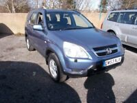 Honda CR-V 2.0 SE SPORT (blue) 2004