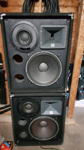 Electro Voice 1503ER speakers - sold pending pickup