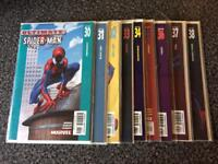 Marvel comics ultimate Spider-Man issues 30-38
