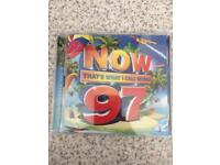 Now 97 cd brand new