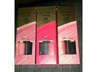 Set 3 max factor 24hour wear LIPFINITY lipcolours