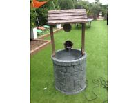 Huge 1.5m high Wishing well water feature