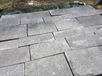 Belgian Blue Limestone Tiles