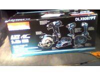 makita dlx6067pt 6 piece combi kit brand new still boxed.