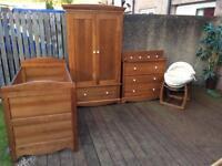 Mammas & Pappas bedroom furniture.